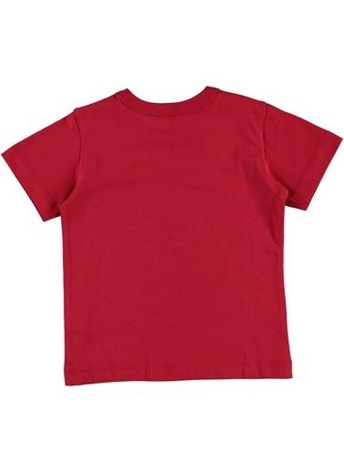 012 Benetton Tişört Kırmızı